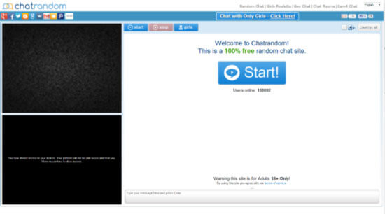 Chatrandom10万用户